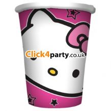 'Hello Kitty' Paper Cups PK8